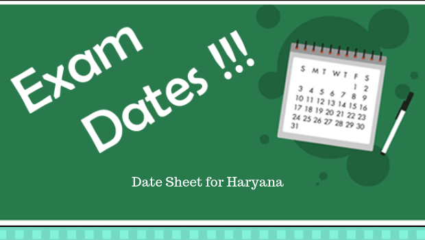 Date Sheet for Haryana