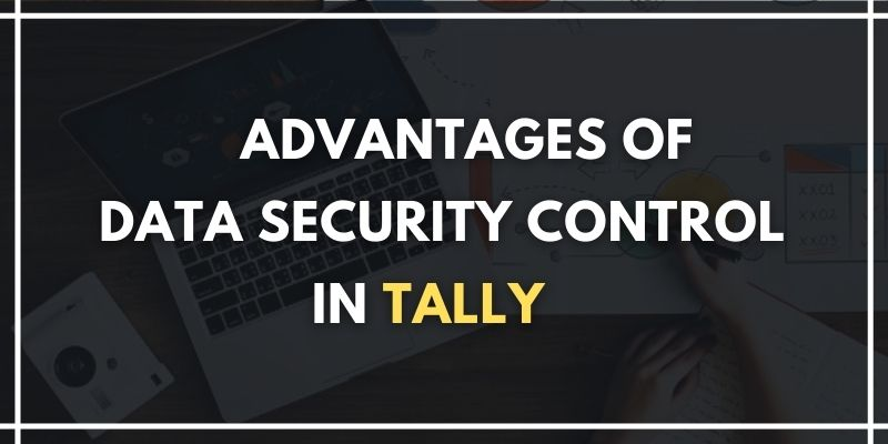 data security control in tally